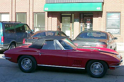 1967 427 Corvette Stinger