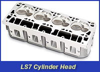 LS7 Corvette Cylinder Head