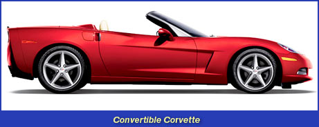 Convertable Chevrolet Corvette