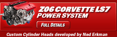 Z06 Corvette LS7 Power System